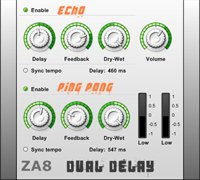 ZA8 Dual Delay vst plugin