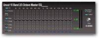 15 Band 2/3 Octave Master EQ